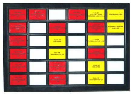 Apex L7525 Light Box Annunciators